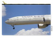Saudi Arabian Airlines Boeing 777 Carry-all Pouch
