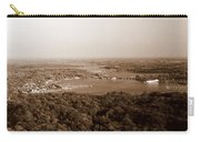 Saugatuck Michigan Harbor Aerial Photograph Carry-all Pouch