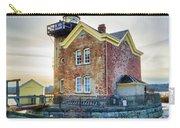 Saugerties Lighthouse Carry-all Pouch by Nancy De Flon