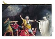 Saul & Witch Of Endor Carry-all Pouch
