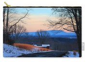 Sauratown View In Winter Carry-all Pouch