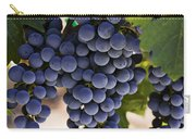 Sauvignon Grapes Carry-all Pouch by Garry Gay