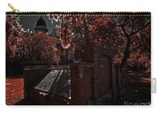 Savanna Georia Colonial Park Cemetery Color Infrared 500 Carry-all Pouch