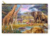 Savannah Animals Carry-all Pouch