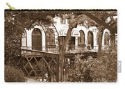 Savannah Arches In Sepia Carry-all Pouch