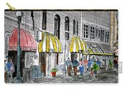 Savannah Georgia River Street 2 Painting Art Carry-all Pouch