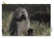 Savannah Olive Baboon  Carry-all Pouch