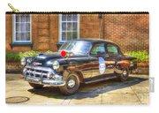 Savannah Police Car 1953 Chevrolet  Carry-all Pouch