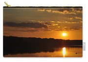 Savannah River Sunset Carry-all Pouch