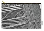 Savannah River Walk Stories Black And White Carry-all Pouch