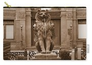 Savannah Sepia - Cotton Exchange Building Carry-all Pouch