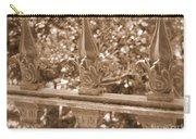 Savannah Sepia - Finials Carry-all Pouch