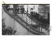 Savannah Stoops - Black And White Carry-all Pouch