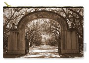 Savannaha Sepia - Wormsloe Plantation Gate Carry-all Pouch