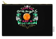 Save Oranges Eat Vegetarian Zombie Carry-all Pouch
