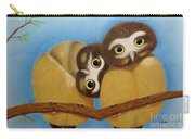 Saw-whet Owls Carry-all Pouch
