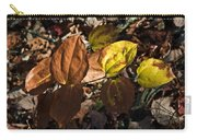 Sawbrier Or Greenbriar In The Fall Carry-all Pouch
