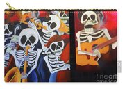 Sax Guitar Music Day Of The Dead  Carry-all Pouch