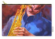 Sax Player  Carry-all Pouch