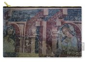 Saxon Medieval Frescoes, Transylvania Carry-all Pouch