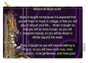 Saxophone Photographs Or Pictures For T-shirts Why Music 4819.02 Carry-all Pouch