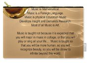 Saxophone Photograph Why Music For T-shirts Posters 4827.02 Carry-all Pouch