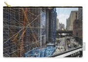 Scaffolding In The City Carry-all Pouch