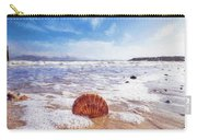 Scallop Shell On The Beach - Impressions Carry-all Pouch