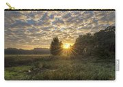 Scalloped Morning Skies Carry-all Pouch