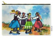 Scandinavian Dancers Carry-all Pouch by Kathy Braud
