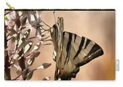 Scarce Swallowtail Feeding Carry-all Pouch