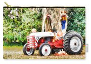 Scarecrow And Pumpkins 2 Carry-all Pouch