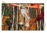 Scarecrow In Bellagio Conservtory In Las Vegas-nevada Carry-all Pouch