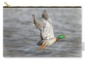 Scared Mallard Drake Carry-all Pouch