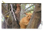 Scared Up A Tree Carry-all Pouch