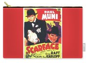 Scarface 1932 French Revival Unknown Date Carry-all Pouch