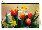 Scarlet And Gold Carry-all Pouch