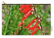 Scarlet Bugler In Rancho Santa Ana Botanic Garden In Claremont-californi Carry-all Pouch