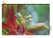 Scarlet Flame Passiflora  Carry-all Pouch