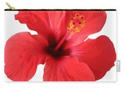 Scarlet Hibiscus Tropical Flower  Carry-all Pouch