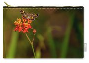 Scarlet Milkweed And Butterfly Carry-all Pouch