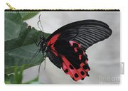 Scarlet Mormon Butterfly #2 Carry-all Pouch