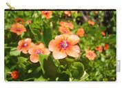 Scarlet Pimpernel Flower Photograph Carry-all Pouch