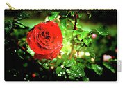 Scarlet Raindrops Carry-all Pouch