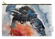 Scarlet Robin Carry-all Pouch