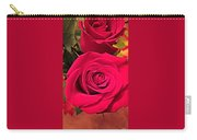 Scarlet Roses Carry-all Pouch