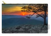 Scarlet Sky At Ravens Roost Carry-all Pouch