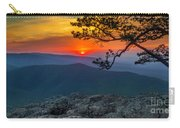Scarlet Sky At Ravens Roost Panorama I Carry-all Pouch
