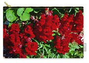 Scarlet Snapdragons At Pilgrim Place In Claremont-california  Carry-all Pouch