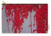 Scarlet Squiggle Carry-all Pouch